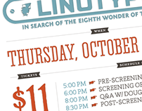 Linotype The Film | Poster Concept for KC Screening