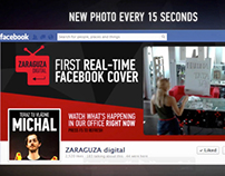 First Real Time Facebook Cover