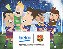 Beko | FC Barcelona Official Partner of Play