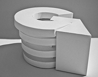 The architectural letter \ G from Guggenheim