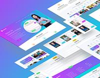 Education Website (onepage) - Ssarthi India