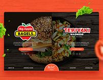 Big Apple Bagels X Terriyaki Madness Website Design
