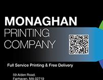 Monaghan Printing AD