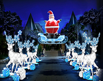 Celebrates Christmas at Resorts World Sentosa