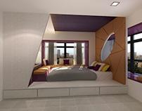 HDB 4-rooms flat