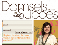 Damsels In Success - Website & Branding