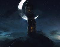 The Dark Tower matte painging