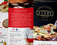 Cardápio Fino´s Pizzaria