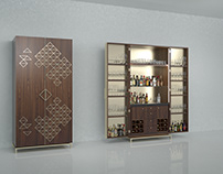 'Hold Your Drink' with a Bar Cabinet by William Garvey