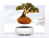 Air Bonsai Landing Page