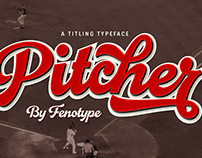 Pitcher Typeface