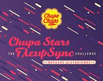 Chupa Stars the ΓλειψSync Challenge