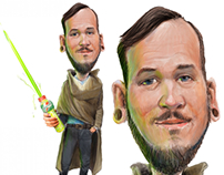Jedi Gatorade new employee for Laser Locators