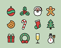 Christmas icons (free download)