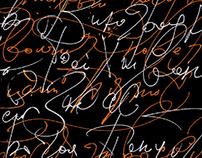 Calligraphy experiments III