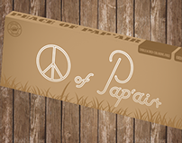 Peace of Pap'air rolling paper