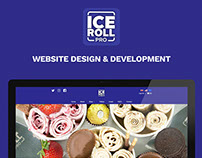 Ice Roll Pro | Website Design & Development