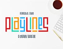 Playline - DIsplay Typeface
