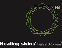 Healing Skin - Branding & Packaging