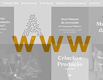 GDA + Fundação GDA Website