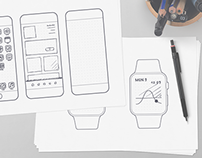 75 Printable Wireframe Templates