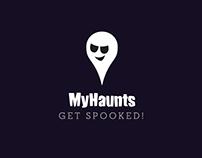 MyHaunts App Walkthrough