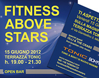 Flyer Tonic Fitness Event