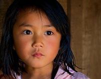Portraits in Yunnan,  China.