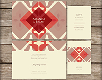 wedding invitation, branding