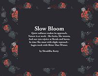 Slow Bloom - SS18 Print Illustrations