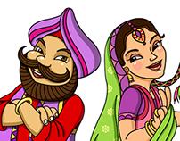 Happy Singh Da Dhaba - Logo & Mascot Design