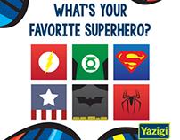 Yázigi Botafogo - Qual o seu herói favorito?