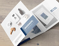 Manadil - Square brochure template