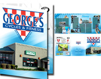 Georges Cycle Tri-Fold Brochure