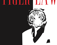Tiger Lawyer Pin-Up