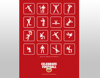 Amstel Celebrate football