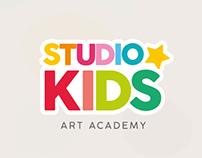 Studio Kids Art Academy - Branding & Concept
