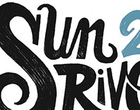 Sun River 2015 Lettering