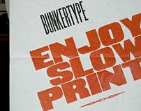 """Enjoy slow print"""
