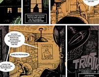 """Comic """"Z archiwum IKS"""" 2012"""