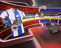 Augmented reality for Ziggo Sport