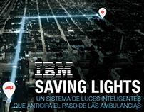IBM Saving Lights