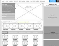 GETMEIN! Website Redesign Wireframes