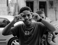 kids of Jisr az-Zarqa
