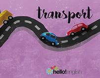"Book illustrations ""Transport"""