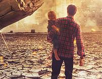 Manipulation Photoshop - City Falldown