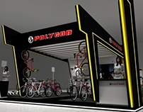 Polygon Exhibition booth