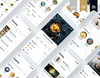 Daily Recipe - Mobile App, Interaction, Cooking
