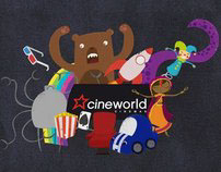 Concepts for Cineworld Cinema's Idents