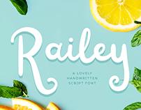 FREE FONT | Railey